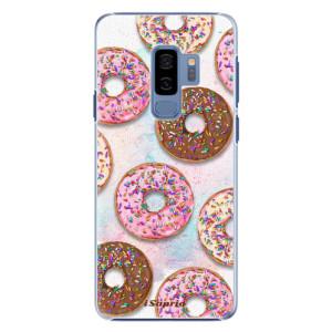 Plastové pouzdro iSaprio Donutky Všude 11 na mobil Samsung Galaxy S9 Plus