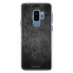 Plastové pouzdro iSaprio black Wood 13 na mobil Samsung Galaxy S9 Plus