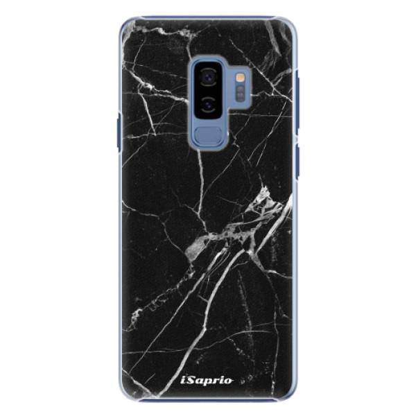 Plastové pouzdro iSaprio black Marble 18 na mobil Samsung Galaxy S9 Plus (Plastový obal, kryt, pouzdro iSaprio black Marble 18 na mobilní telefon Samsung Galaxy S9 Plus)