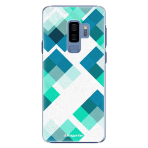 Plastové pouzdro iSaprio Abstract Squares 11 na mobil Samsung Galaxy S9 Plus
