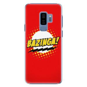 Plastové pouzdro iSaprio Bazinga 01 na mobil Samsung Galaxy S9 Plus