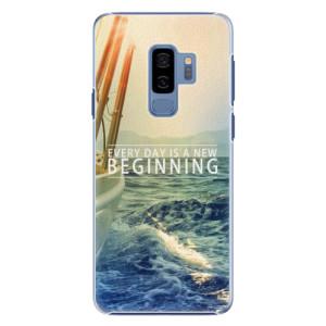 Plastové pouzdro iSaprio Beginning na mobil Samsung Galaxy S9 Plus