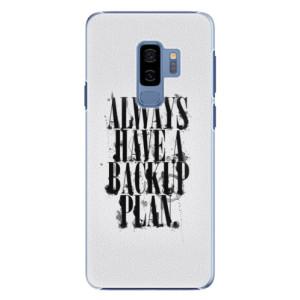 Plastové pouzdro iSaprio Backup Plan na mobil Samsung Galaxy S9 Plus