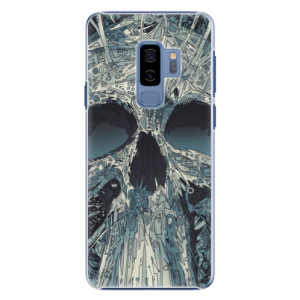 Plastové pouzdro iSaprio Abstract Skull na mobil Samsung Galaxy S9 Plus
