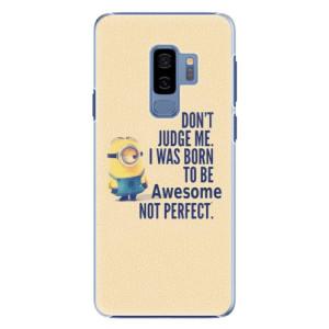 Plastové pouzdro iSaprio Be Awesome na mobil Samsung Galaxy S9 Plus