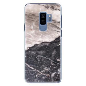 Plastové pouzdro iSaprio BW Mramor na mobil Samsung Galaxy S9 Plus
