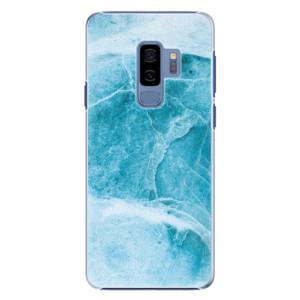 Plastové pouzdro iSaprio Blue Marble na mobil Samsung Galaxy S9 Plus
