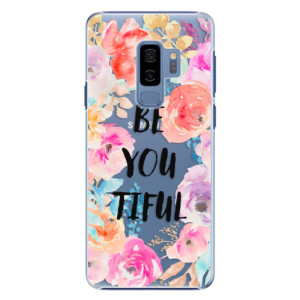 Plastové pouzdro iSaprio BeYouTiful na mobil Samsung Galaxy S9 Plus