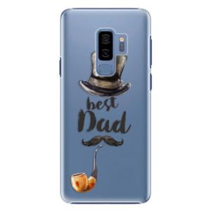 Plastové pouzdro iSaprio Best Dad na mobil Samsung Galaxy S9 Plus