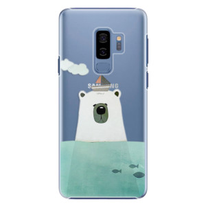 Plastové pouzdro iSaprio Bear With Boat na mobil Samsung Galaxy S9 Plus