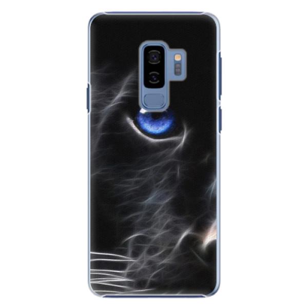 Plastové pouzdro iSaprio black Puma na mobil Samsung Galaxy S9 Plus (Plastový obal, kryt, pouzdro iSaprio black Puma na mobilní telefon Samsung Galaxy S9 Plus)