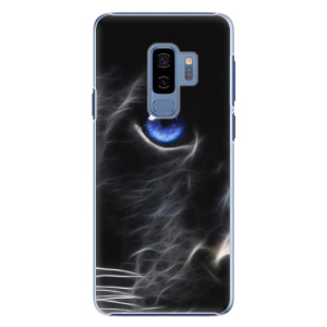 Plastové pouzdro iSaprio black Puma na mobil Samsung Galaxy S9 Plus
