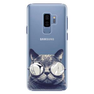 Plastové pouzdro iSaprio Šílená Číča 01 na mobil Samsung Galaxy S9 Plus