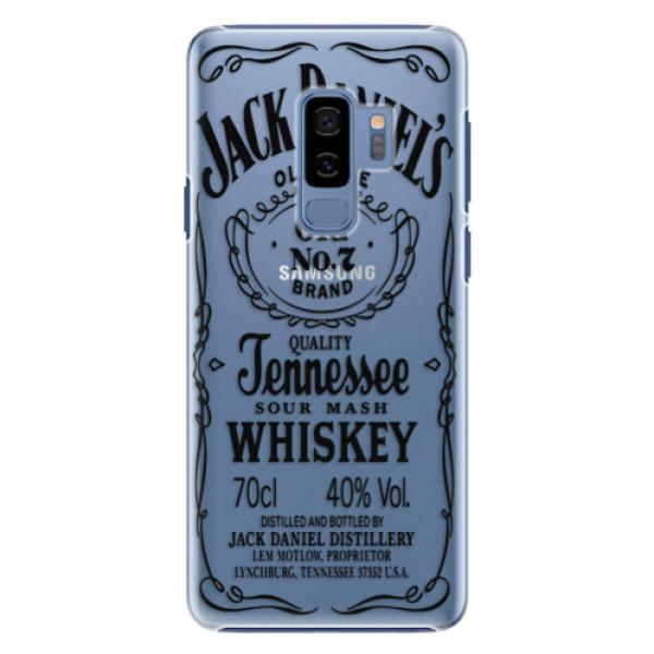 Plastové pouzdro iSaprio Transparentí Black Jack na mobil Samsung Galaxy S9 Plus (Plastový kryt, obal, pouzdro iSaprio Transparentí Black Jack na mobilní telefon Samsung Galaxy S9 Plus)