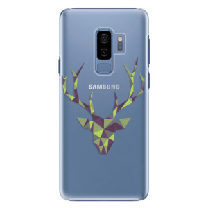 Plastové pouzdro iSaprio Zelený Jelínek na mobil Samsung Galaxy S9 Plus