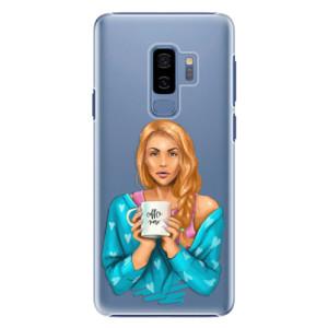 Plastové pouzdro iSaprio Coffee Now Zrzka na mobil Samsung Galaxy S9 Plus