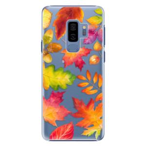 Plastové pouzdro iSaprio Autumn Leaves 01 na mobil Samsung Galaxy S9 Plus