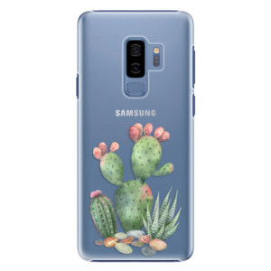 Plastové pouzdro iSaprio Kaktusy 01 na mobil Samsung Galaxy S9 Plus