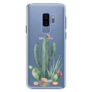 Plastové pouzdro iSaprio Kaktusy 02 na mobil Samsung Galaxy S9 Plus