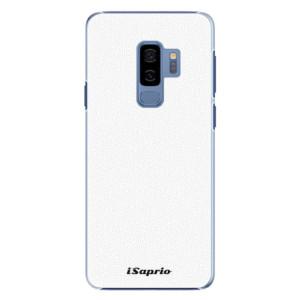 Plastové pouzdro iSaprio 4Pure bílé na mobil Samsung Galaxy S9 Plus