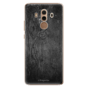 Plastové pouzdro iSaprio black Wood 13 na mobil Huawei Mate 10 Pro