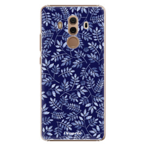 Plastové pouzdro iSaprio Blue Leaves 05 na mobil Huawei Mate 10 Pro