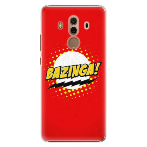 Plastové pouzdro iSaprio Bazinga 01 na mobil Huawei Mate 10 Pro