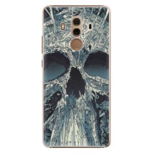 Plastové pouzdro iSaprio Abstract Skull na mobil Huawei Mate 10 Pro