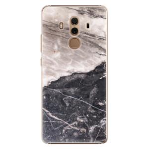 Plastové pouzdro iSaprio BW Marble na mobil Huawei Mate 10 Pro