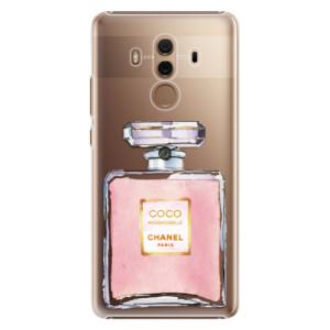 Plastové pouzdro iSaprio Chanel Rose na mobil Huawei Mate 10 Pro