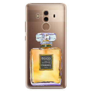 Plastové pouzdro iSaprio Chanel Gold na mobil Huawei Mate 10 Pro