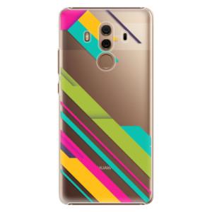Plastové pouzdro iSaprio Barevné Pruhy 03 na mobil Huawei Mate 10 Pro