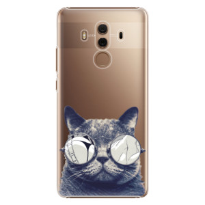 Plastové pouzdro iSaprio Šílená Číča 01 na mobil Huawei Mate 10 Pro