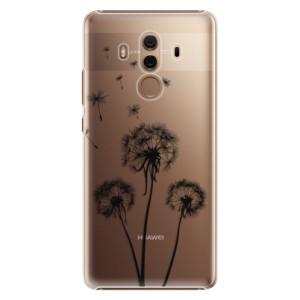 Plastové pouzdro iSaprio Tři Černé Pampelišky na mobil Huawei Mate 10 Pro