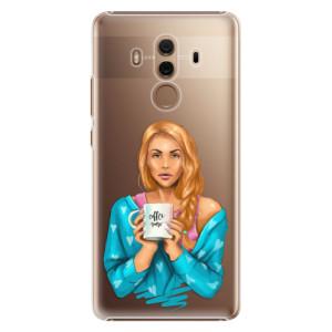 Plastové pouzdro iSaprio Coffee Now Zrzka na mobil Huawei Mate 10 Pro