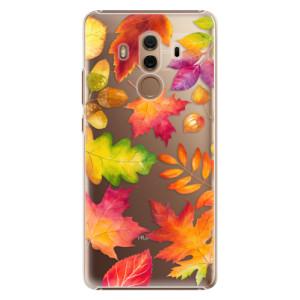 Plastové pouzdro iSaprio Autumn Leaves 01 na mobil Huawei Mate 10 Pro
