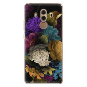Plastové pouzdro iSaprio Temné Květy na mobil Huawei Mate 10 Pro