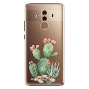 Plastové pouzdro iSaprio Kaktusy 01 na mobil Huawei Mate 10 Pro