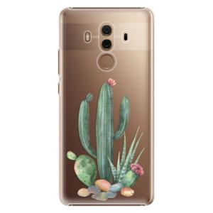 Plastové pouzdro iSaprio Kaktusy 02 na mobil Huawei Mate 10 Pro