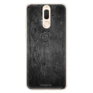 Plastové pouzdro iSaprio black Wood 13 na mobil Huawei Mate 10 Lite