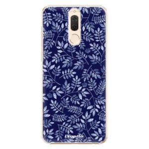 Plastové pouzdro iSaprio Blue Leaves 05 na mobil Huawei Mate 10 Lite