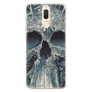 Plastové pouzdro iSaprio Abstract Skull na mobil Huawei Mate 10 Lite