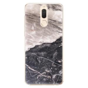 Plastové pouzdro iSaprio BW Marble na mobil Huawei Mate 10 Lite