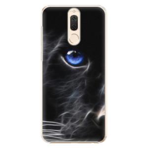 Plastové pouzdro iSaprio black Puma na mobil Huawei Mate 10 Lite