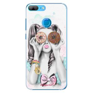 Plastové pouzdro iSaprio Donutky Očiska 10 na mobil Honor 9 Lite