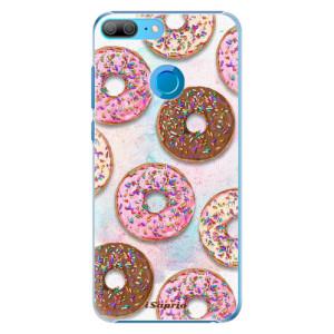 Plastové pouzdro iSaprio Donutky Všude 11 na mobil Honor 9 Lite