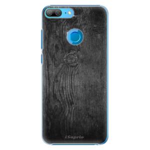 Plastové pouzdro iSaprio Black Wood 13 na mobil Honor 9 Lite