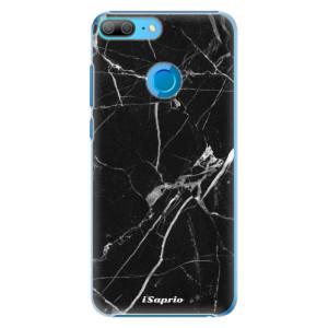 Plastové pouzdro iSaprio Black Marble 18 na mobil Honor 9 Lite