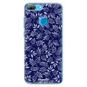 Plastové pouzdro iSaprio Blue Leaves 05 na mobil Honor 9 Lite