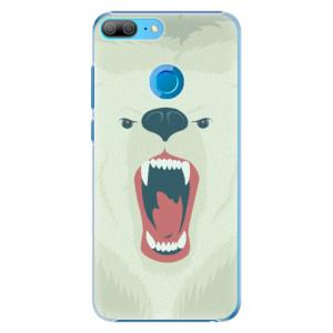 Plastové pouzdro iSaprio Naštvanej Medvěd na mobil Honor 9 Lite